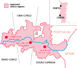 Douro Valley region
