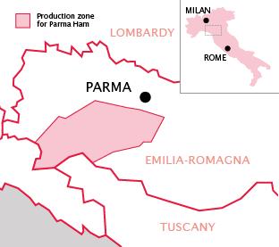 Parma region