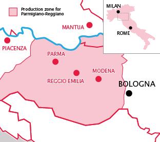 Parmigiano-Reggiano region